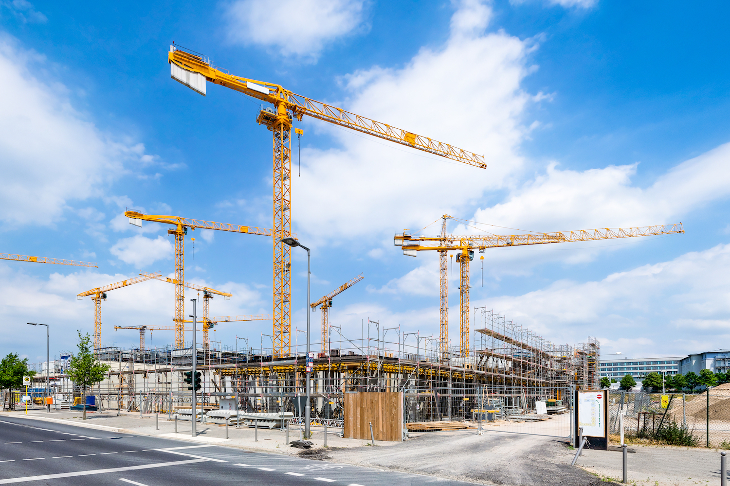 Construction on Commercial Property