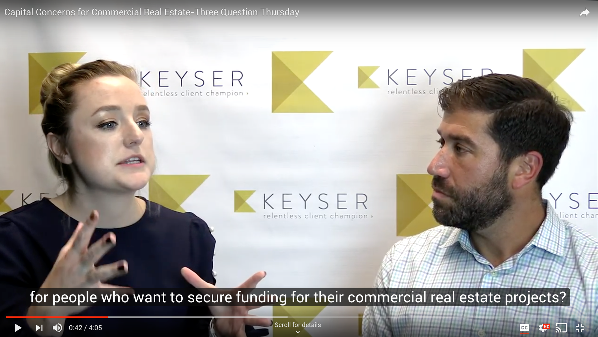 Capital Concerns for Commercial Real Estate